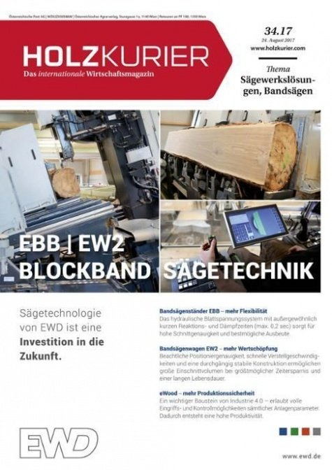 Holzkurier Digital Nr. 34.2017