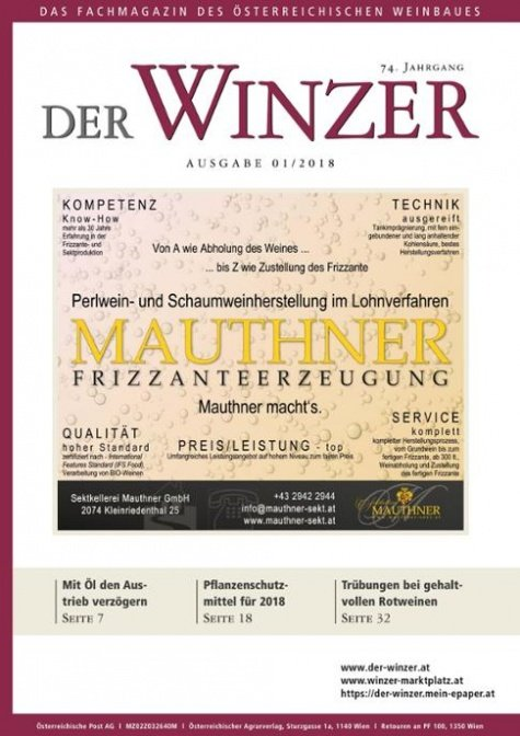 Der Winzer Digital Nr. 1/2018