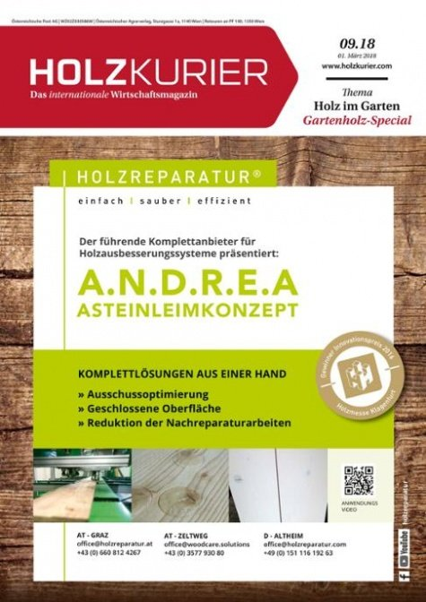 Holzkurier Digital Nr. 09.2018
