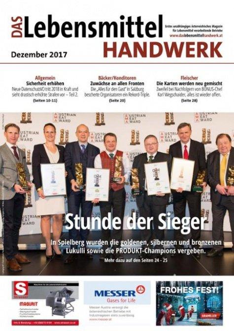 Das Lebensmittelhandwerk Digital Nr. 12/2017